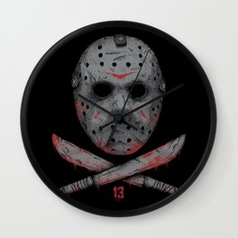 Friday 13 Wall Clock