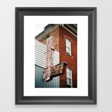 Photographers Portraits Commercial Framed Art Print