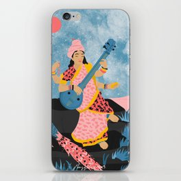 Saraswati iPhone Skin