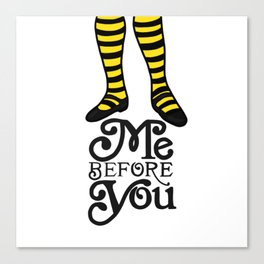 Me Before You Canvas Print