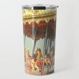 Seaside Carousel Travel Mug