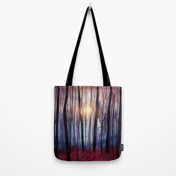 Red Feather Dance Tote Bag
