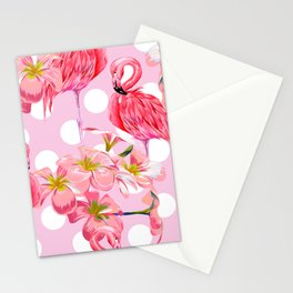 The Pink Flamingo's Party Stationery Cards