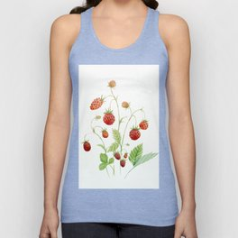 Wild Strawberries Unisex Tank Top