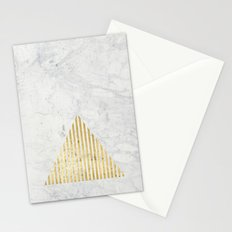 Trian Gold Stationery Cards