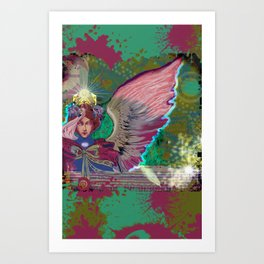 Urban Angel Art Print