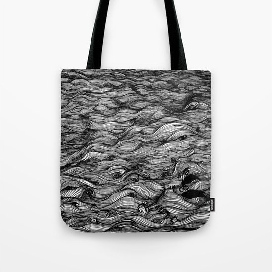 Where the Oceans End Tote Bag