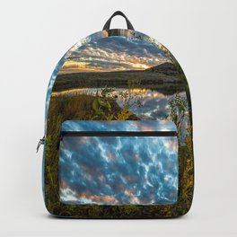Wichitas Wonder - Fall Colors and Big Sky in Oklahoma Backpack