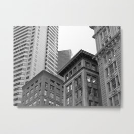 Old and New Metal Print