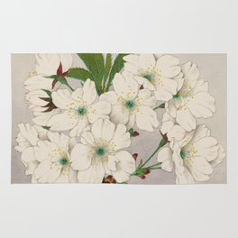 Cascade Fragrance Cherry Blossoms Rug
