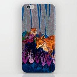 night hunt iPhone Skin
