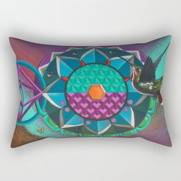 """""""Dive in, the waters Good"""" Rectangular Pillow"""