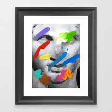 Composition 534 Framed Art Print