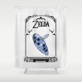Zelda legend - Ocarina of time Shower Curtain
