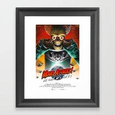 Mars Attacks ! Framed Art Print