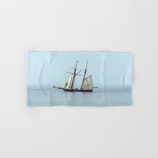 Tall ship Sails by Hand & Bath Towel