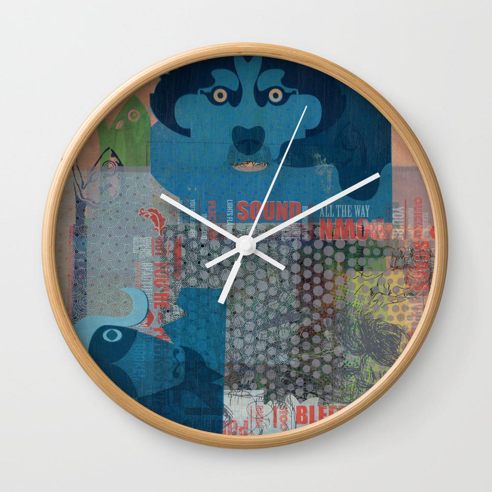 Diary of a Mad Printer Wall Clock by fisheyedboy