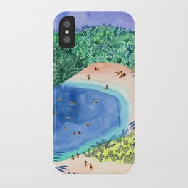 French Paradise iPhone Case