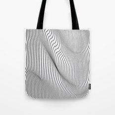 Minimal Curves Tote Bag