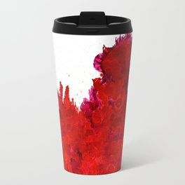 Shining Storm of Red Travel Mug
