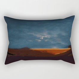 Moonset Rectangular Pillow