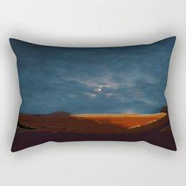 Moonset Rectangular Pillow