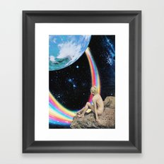 Demos un paseo Framed Art Print