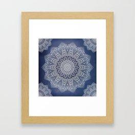 INDIGO DREAMS Framed Art Print