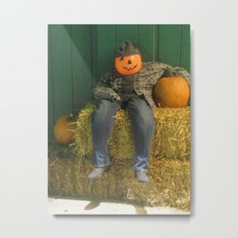 Urban Jack In Casual Mood Metal Print