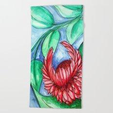 Flower 2 Beach Towel