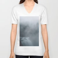 fog V-neck T-shirts featuring Fog by Kiersten Marie Photography