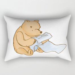 Pooh Reading Rectangular Pillow