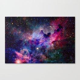 Galaxy Universe Stars Canvas Print