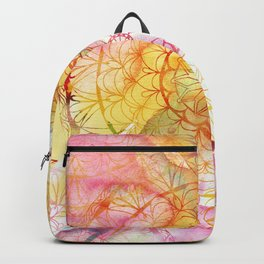 Mandala Water Color II Backpack