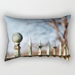 Rusty Railing Rectangular Pillow