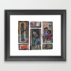 Losing My Shoes in Venice Framed Art Print