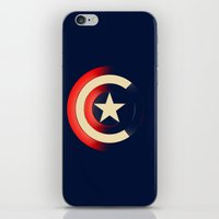captain iPhone & iPod Skins featuring Captain by Ian Wilding