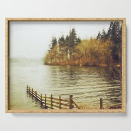 Lakeside Sojourn Serving Tray