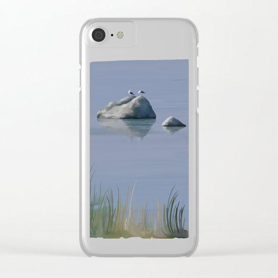 Seagull Siesta Clear iPhone Case