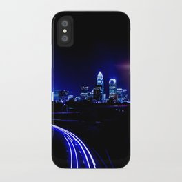 Charlotte, North Carolina Skyline iPhone Case