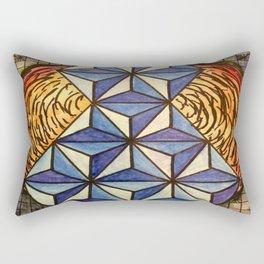 Geo Space Rectangular Pillow