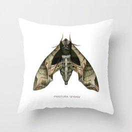 Pandora Sphinx Throw Pillow
