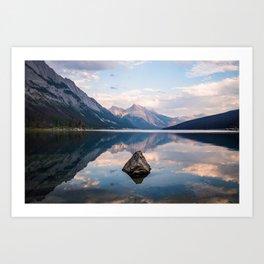 Medicine Lake Art Print