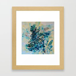 Cosmic Watermark Framed Art Print