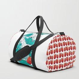 Frozen Kitsune Duffle Bag