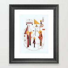 eisodos Framed Art Print