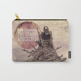 How I Survived The Zombie Apocalypse Carry-All Pouch