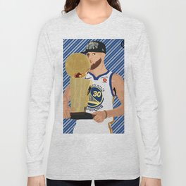 Steph Curry 3 time champion Long Sleeve T-shirt