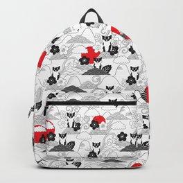 Japanese Shibainu. Backpack