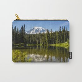 Mt Rainier from Reflection Lake, No. 3 Carry-All Pouch